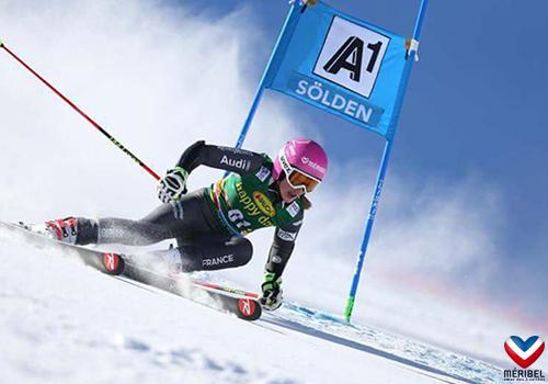 Ski club à Méribel