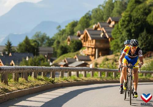Club vélo à Méribel