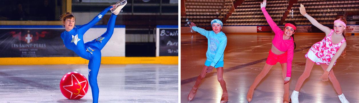 Club de patinage artistique à Méribel