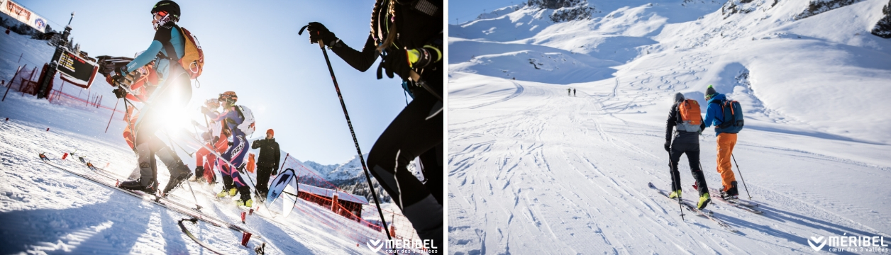 Club de ski alpinisme à Méribel